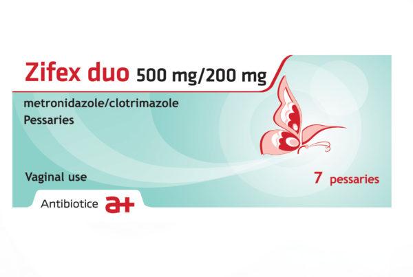 Zifex duo 500 mg/200 mg